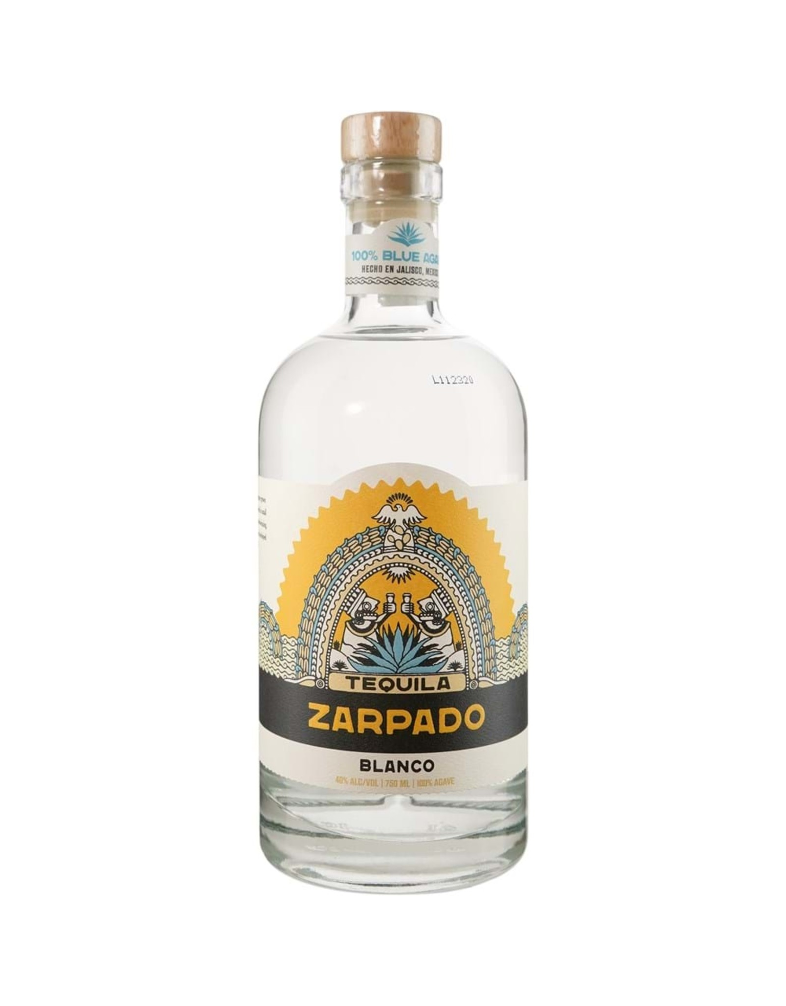 Mexico Zarpado Tequila 750ml