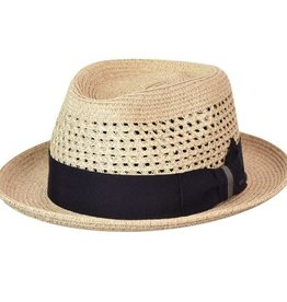 Bailey Hat Co. HAT-FEDORA-WILSHIRE, STRAW-BRAID