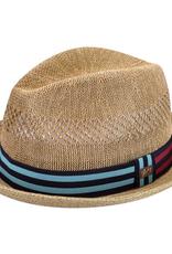 Bailey Hat Co. HAT-FEDORA-BERLE, STRAW BRAID