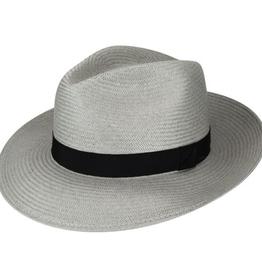 Bailey Hat Co. HAT-FEDORA-BLACKBURN, SHANTUNG STRAW