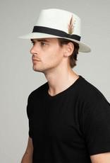 Bailey Hat Co. HAT-FEDORA-KONRATH, SHANTUNG LITESTRAW