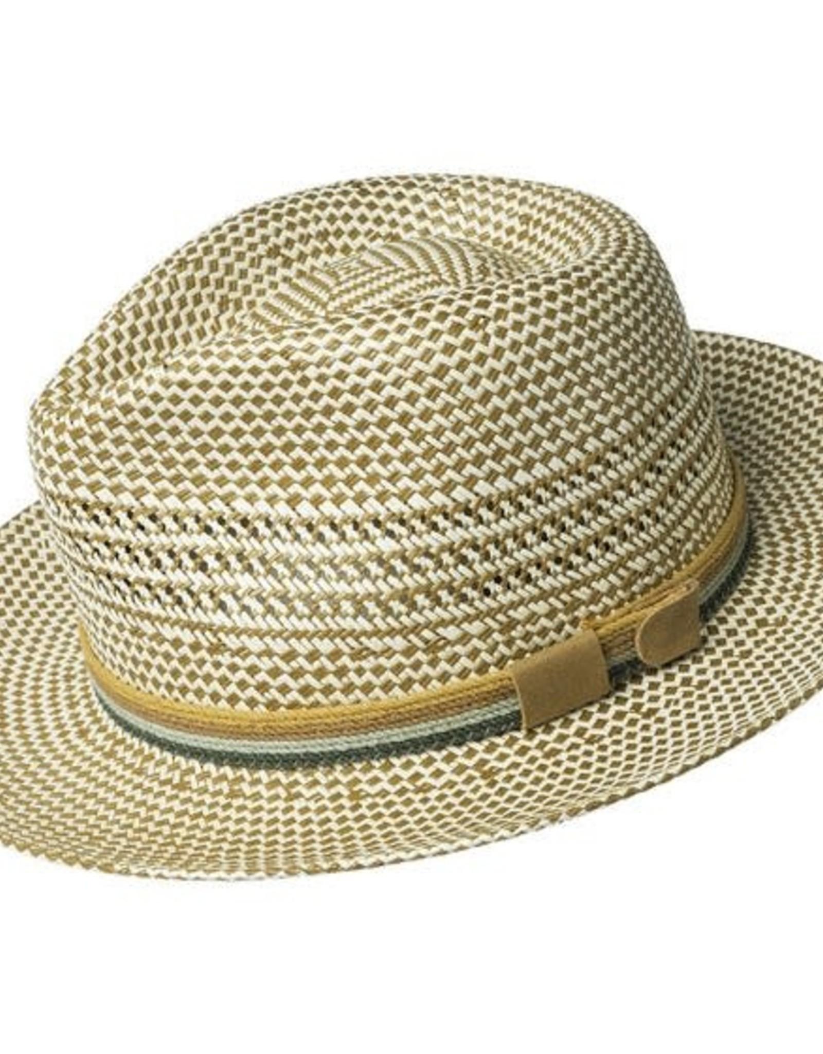Bailey Hat Co. HAT-FEDORA-RUDI, SEPIA NATURAL