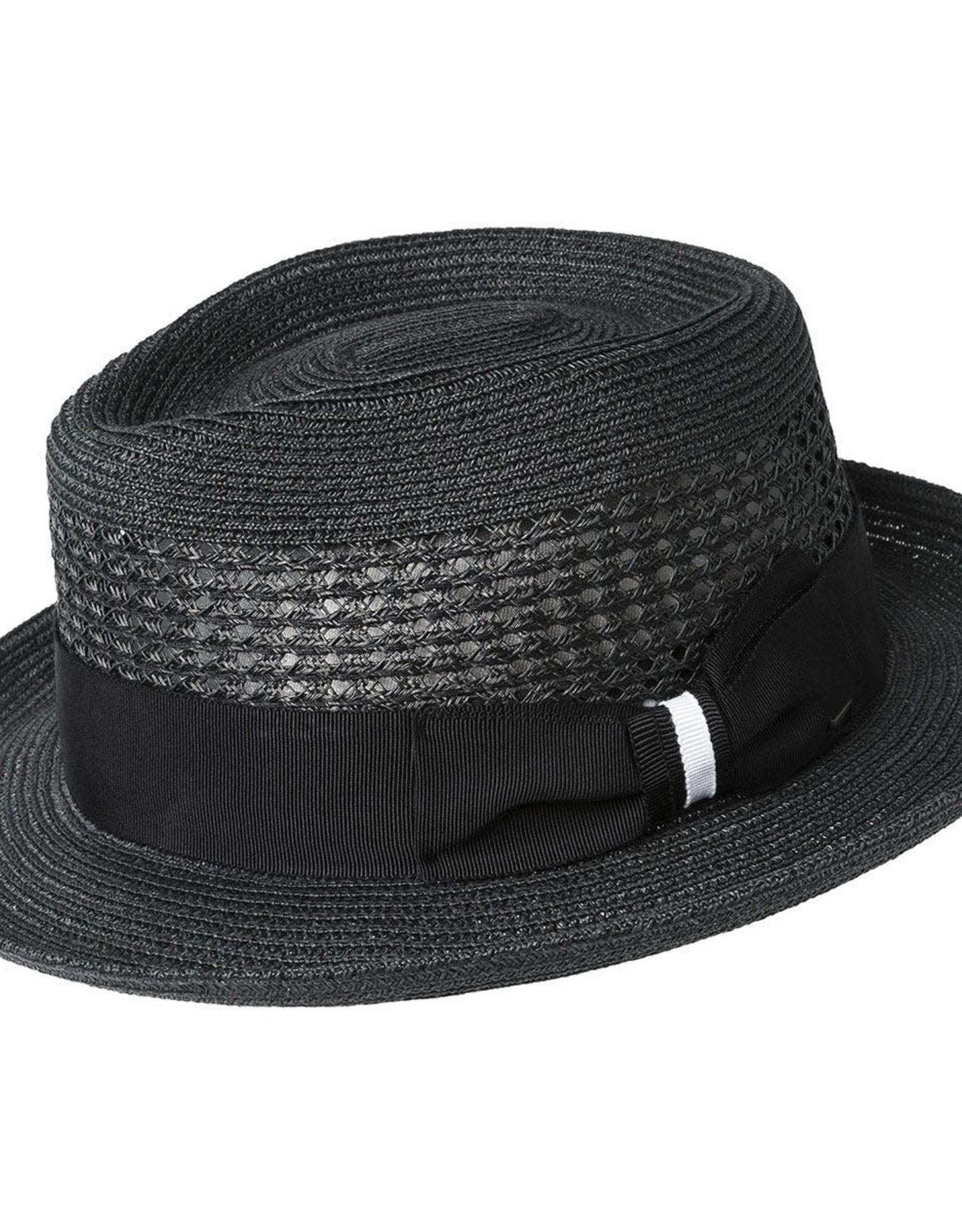 Bailey Hat Co. HAT-FEDORA-WILSHIRE, STRAW-BRAID