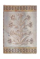 JOURNAL-TAJ MAHAL FLOWERS AGRA-MINI-UNLINED
