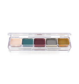Ben Nye PALETTE-ALCOHOL FX, UNDEAD FX, 5 COLORS
