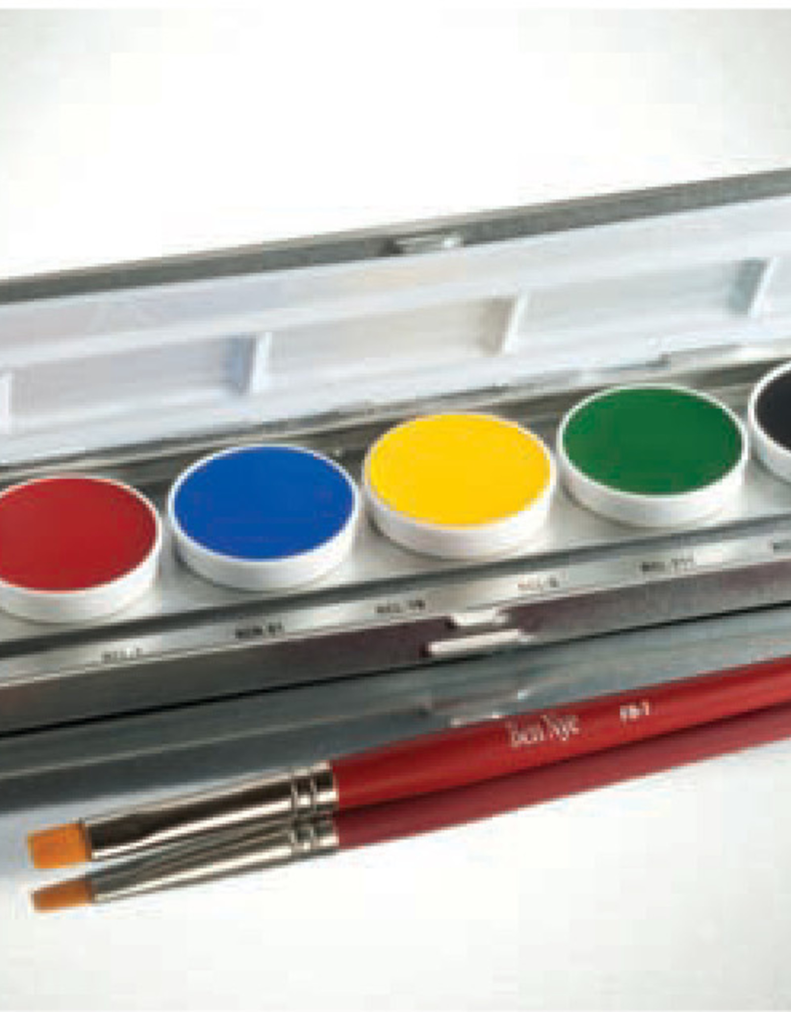Ben Nye PALETTE-PRIMARY CREME, 6 CLRS