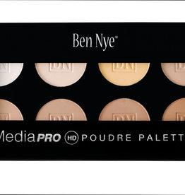 Ben Nye PALETTE-LUXRY PWDR, BELLA, 8 COLOR