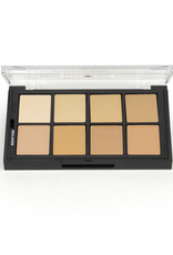 Ben Nye PALETTE-MATTE HD FNDTN, 8 COLORS, FAIR