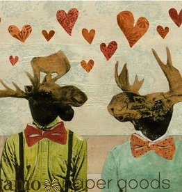 CARD-JUST BECAUSE-LOVE MOOSE