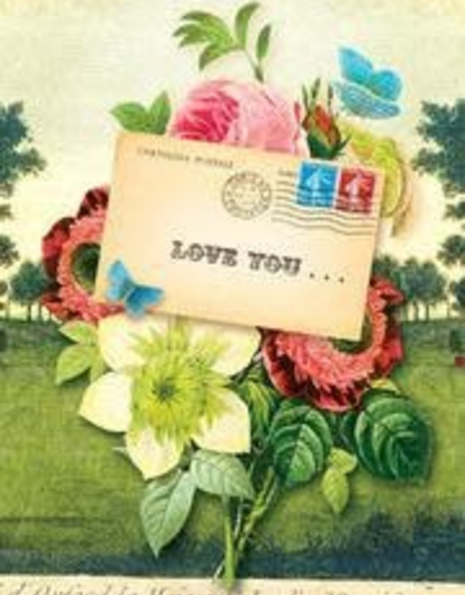 CARD-JUST BECAUSE-LOVE YOU