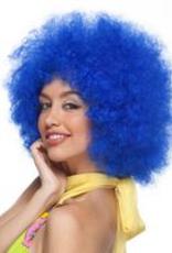 CLOWN WIG, BLUE