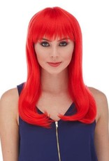 CLASSY WIG, RED