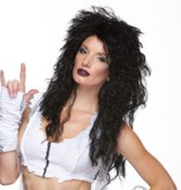 HEAVY METAL WIG, BLACK