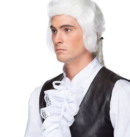 LORDSHIP W/BOW WIG, WHITE