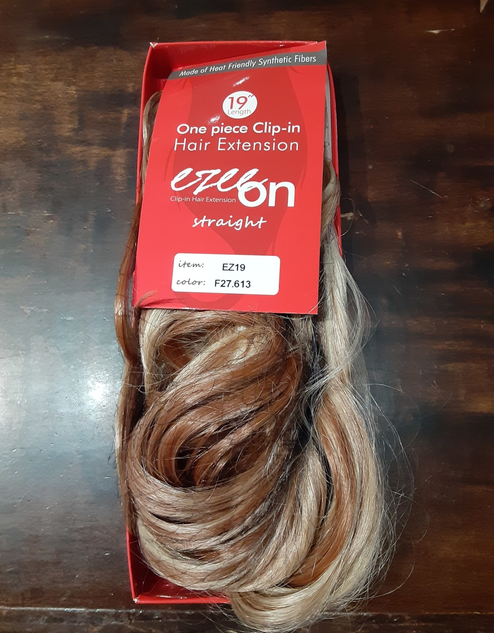 "WIG-EZEON CLIP-IN 19"", F27.613"