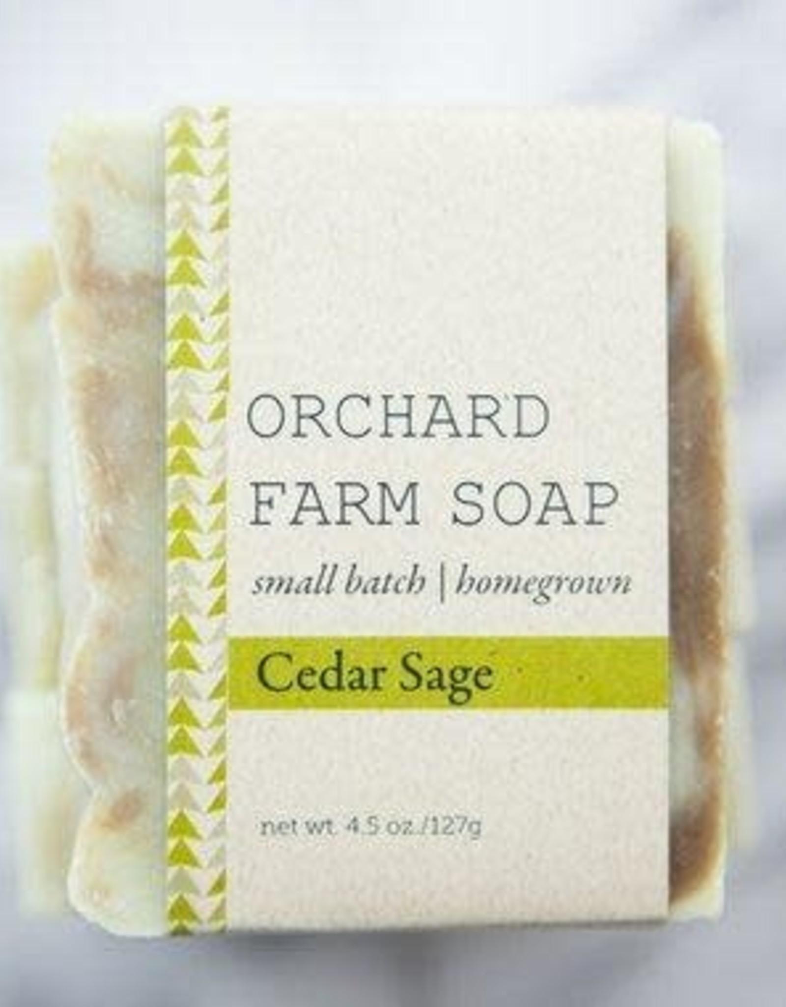 SOAP-CEDAR SAGE