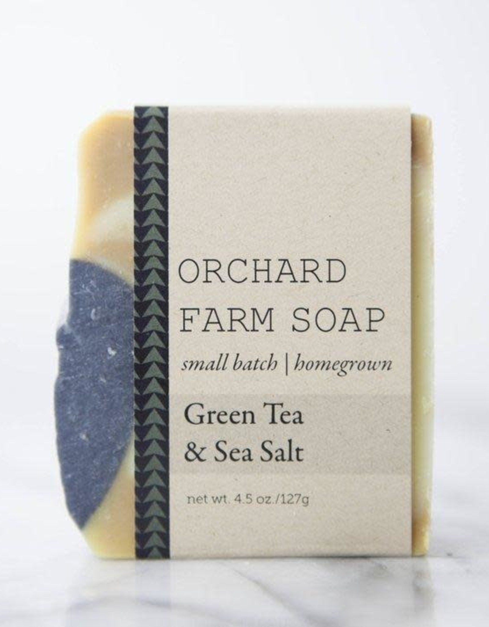 SOAP-GREEN TEA+SEA SALT W ACTIVATED CHARCOAL