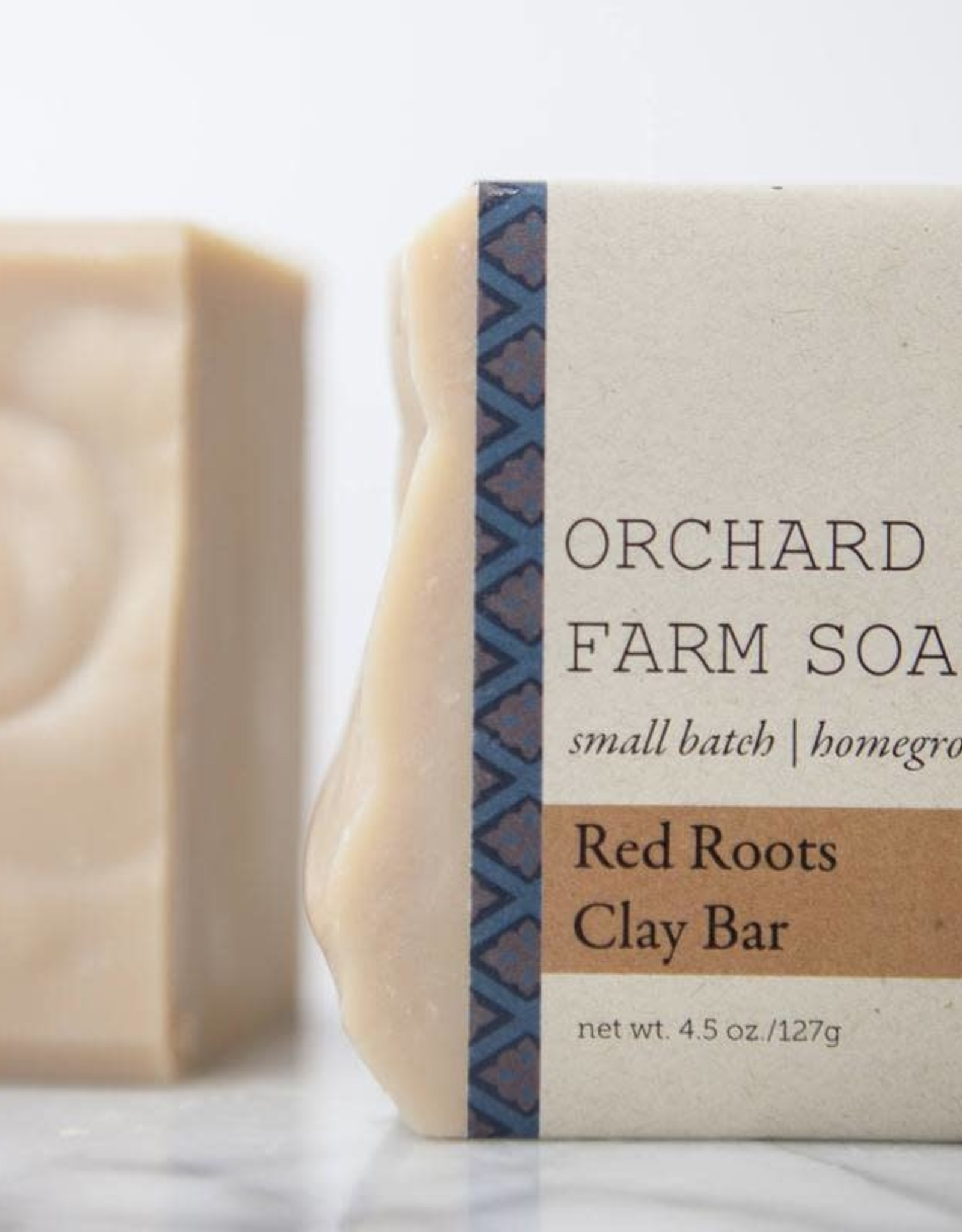 SOAP-SHAVING SOAP, RED ROOTS CLAY