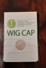 WIG CAP, BEIGE, 1 PC