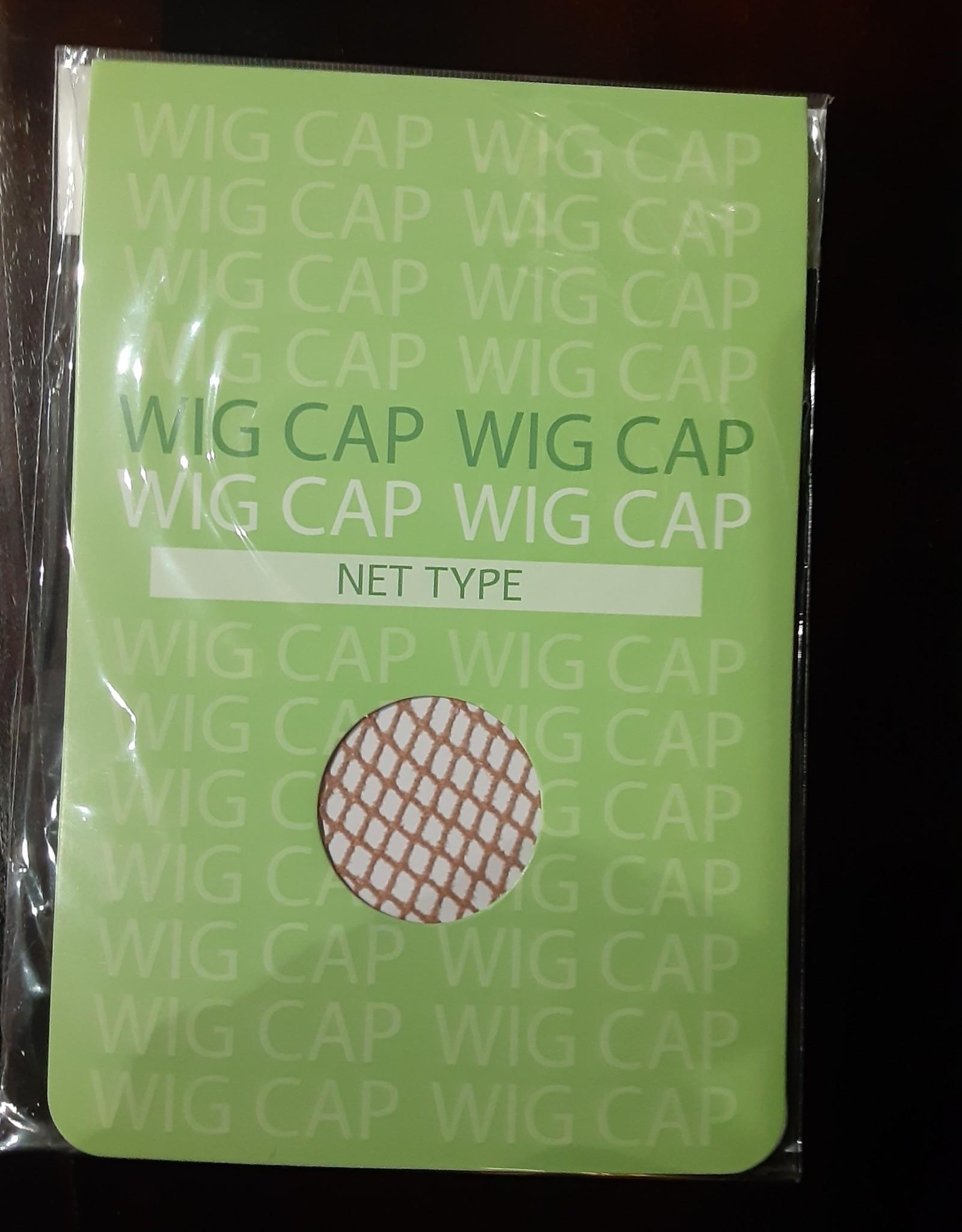 WIG CAP-NET, DELUXE, LIGHT BROWN