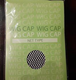 WIG CAP-NET, DELUXE, BLACK