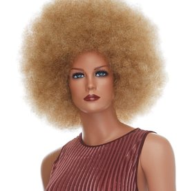 AFRO WIG-JUMBO, MIXED BLONDE