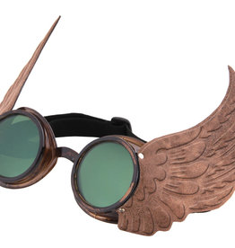GOGGLES-WINGED, GOLD