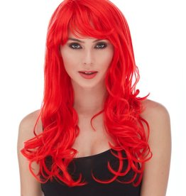 BURLESQUE WIG, RED