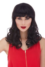 CATHERINE WIG,BLACK (1B)