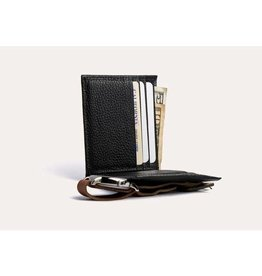 WALLET-CLASSIC LEATHER, BLACK