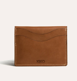 WALLET-CARD CASE SLIDE, BROWN
