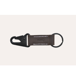 KEY RING-LEATHER,BROWN