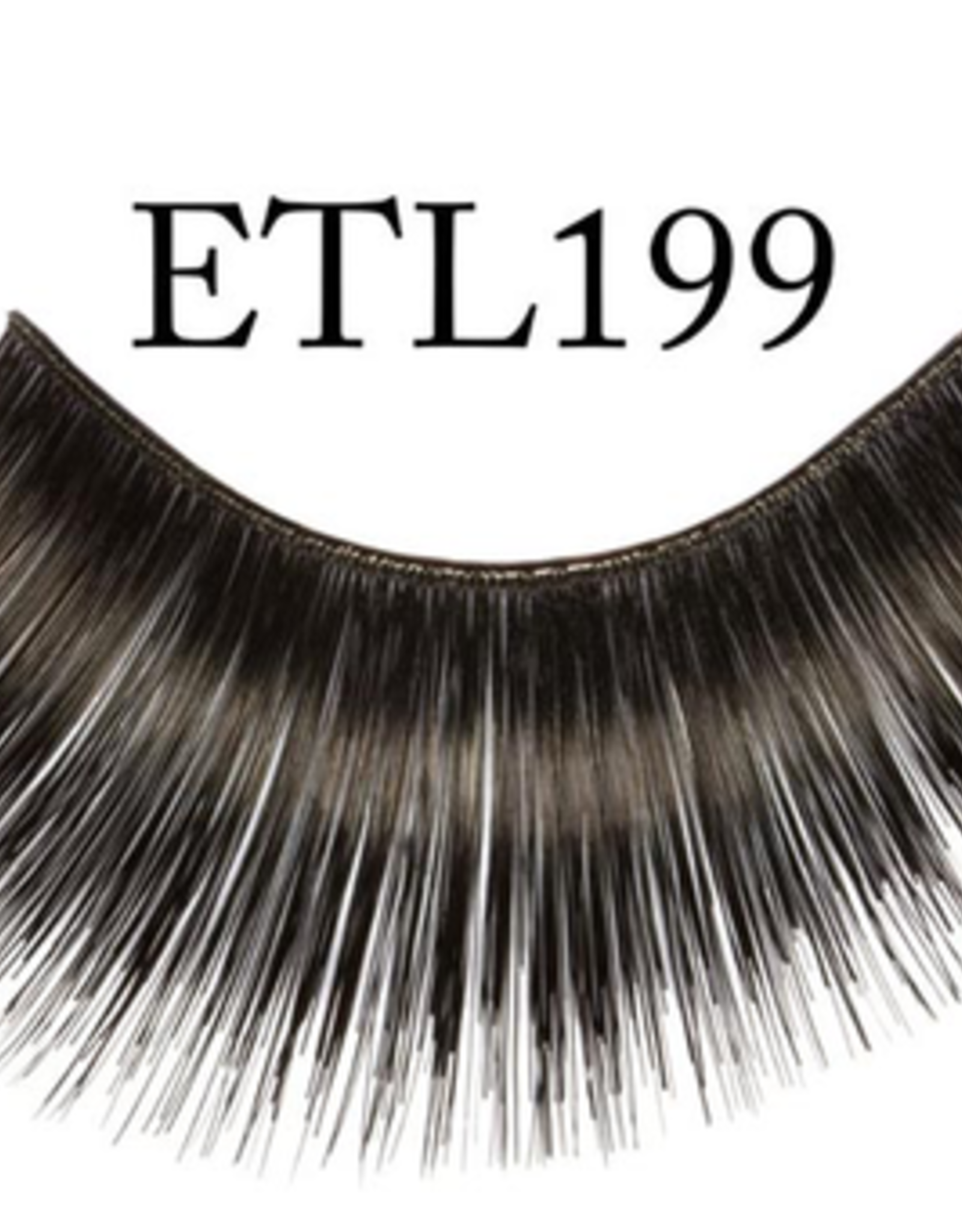 EYELASH-BLACK, #199 THICK & LNG