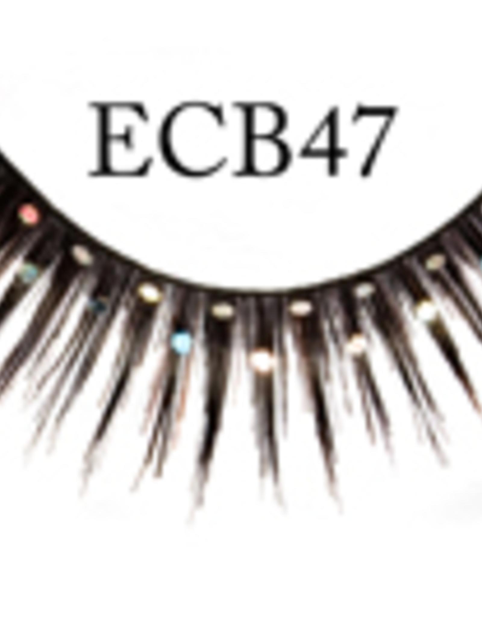 EYELASH-BLACK W/GLITTER #CB47
