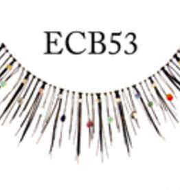 EYELASH-BLACK W/GLITTER  #CB53