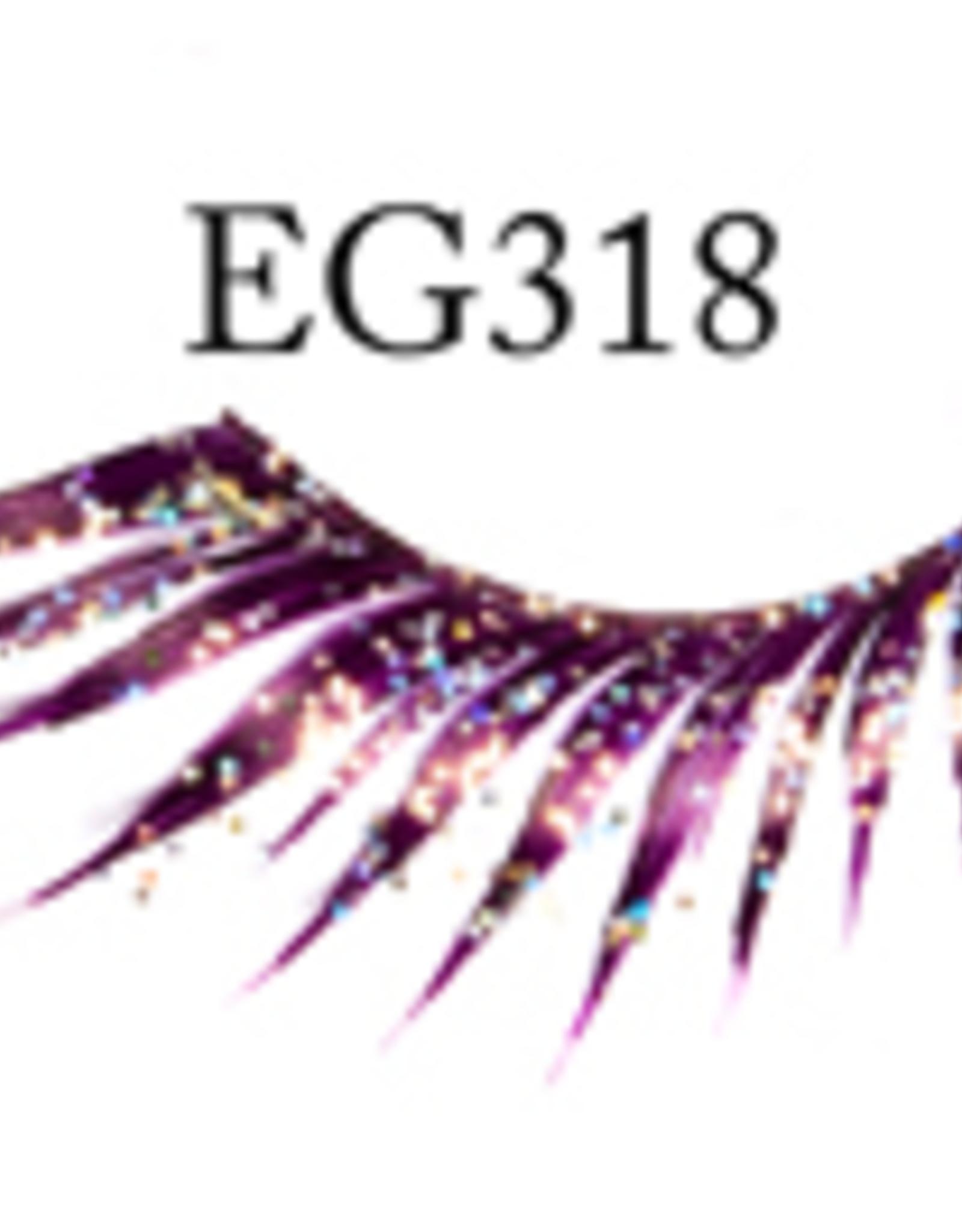 EYELASH-GLITTER, PURPLE
