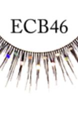 EYELASH-BLACK W/GLITTER, #CB46