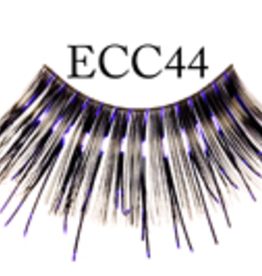 EYELASH-METALLIC, PURPLE MTL/BLK