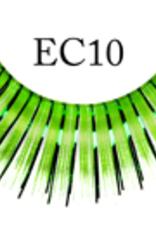 EYELASH-METALLIC, GREEN/SILVER