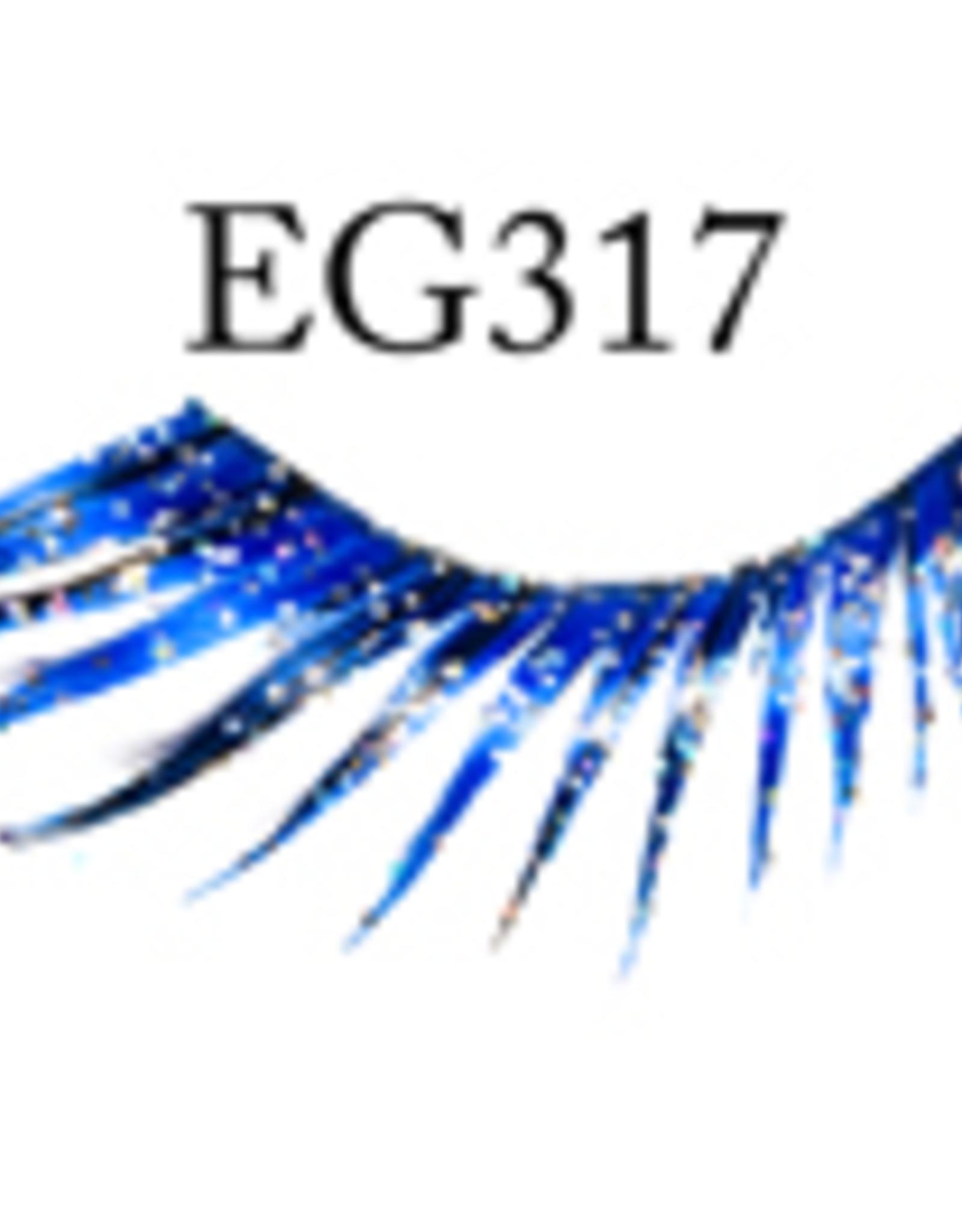EYELASH-GLITTER, BLUE