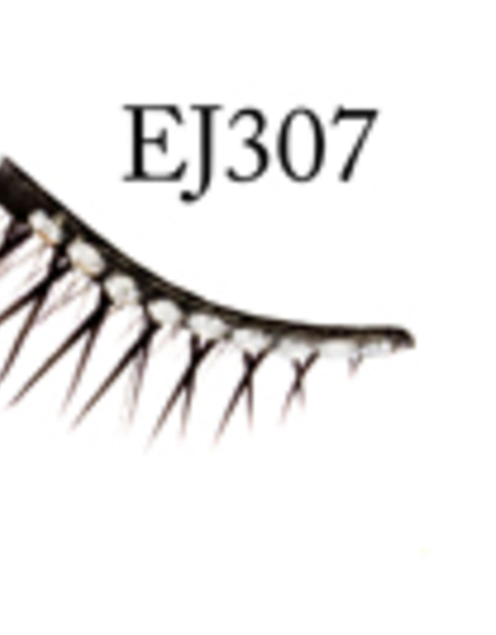 EYELASH-BLACK W/STONE #307
