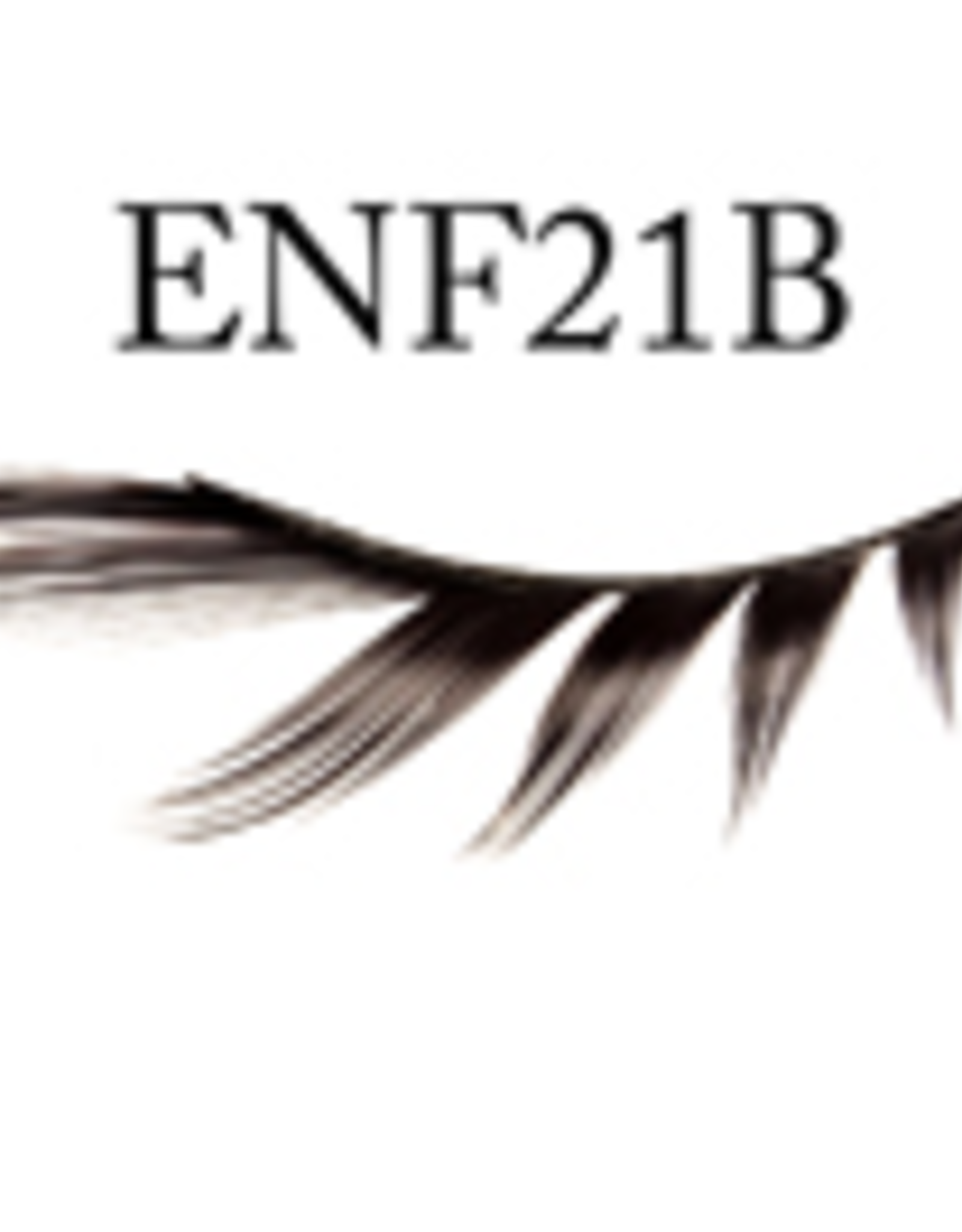 EYELASH-BLACK FASHION,  #21, BOTTOM ONLY