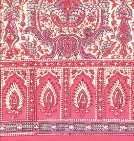"SCARF-BANDANA-ROSE PALACE, 30"" X 30"", COTTON VOILE"