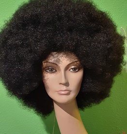 AFRO WIG-COLOR AFRO, OFF BLACK