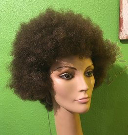 AFRO WIG-BUDGET, BROWN