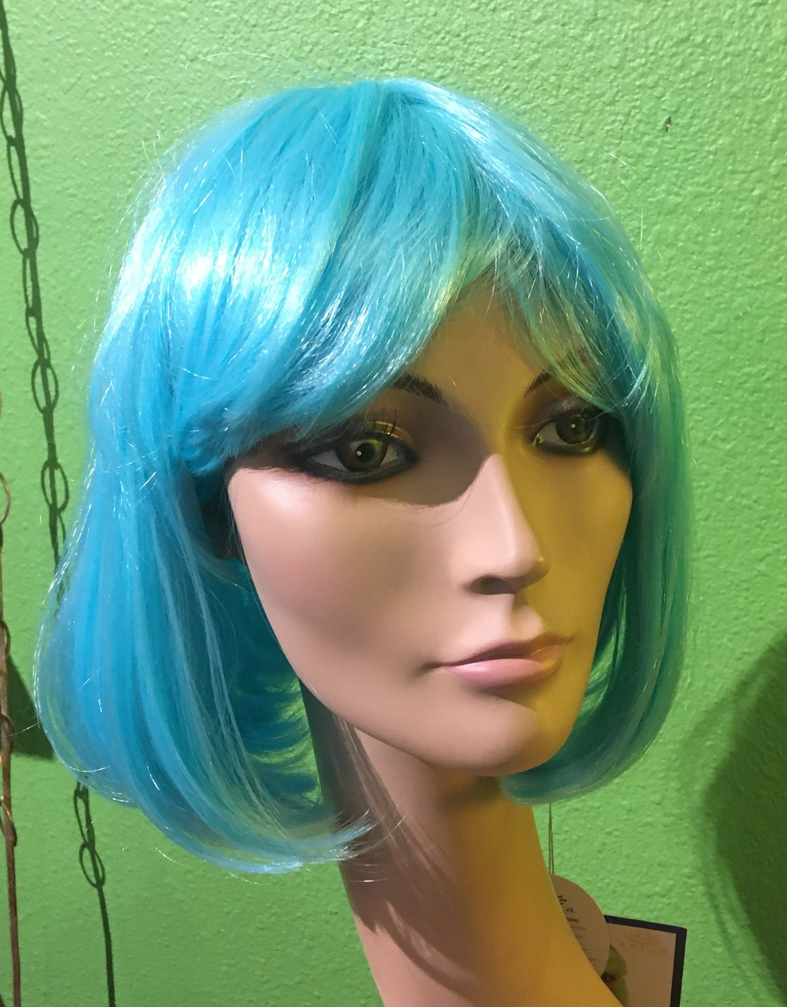 CINDY WIG, LIGHT BLUE