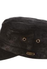 HAT-CADET-ARGYLL, WEATHERED LEATHER