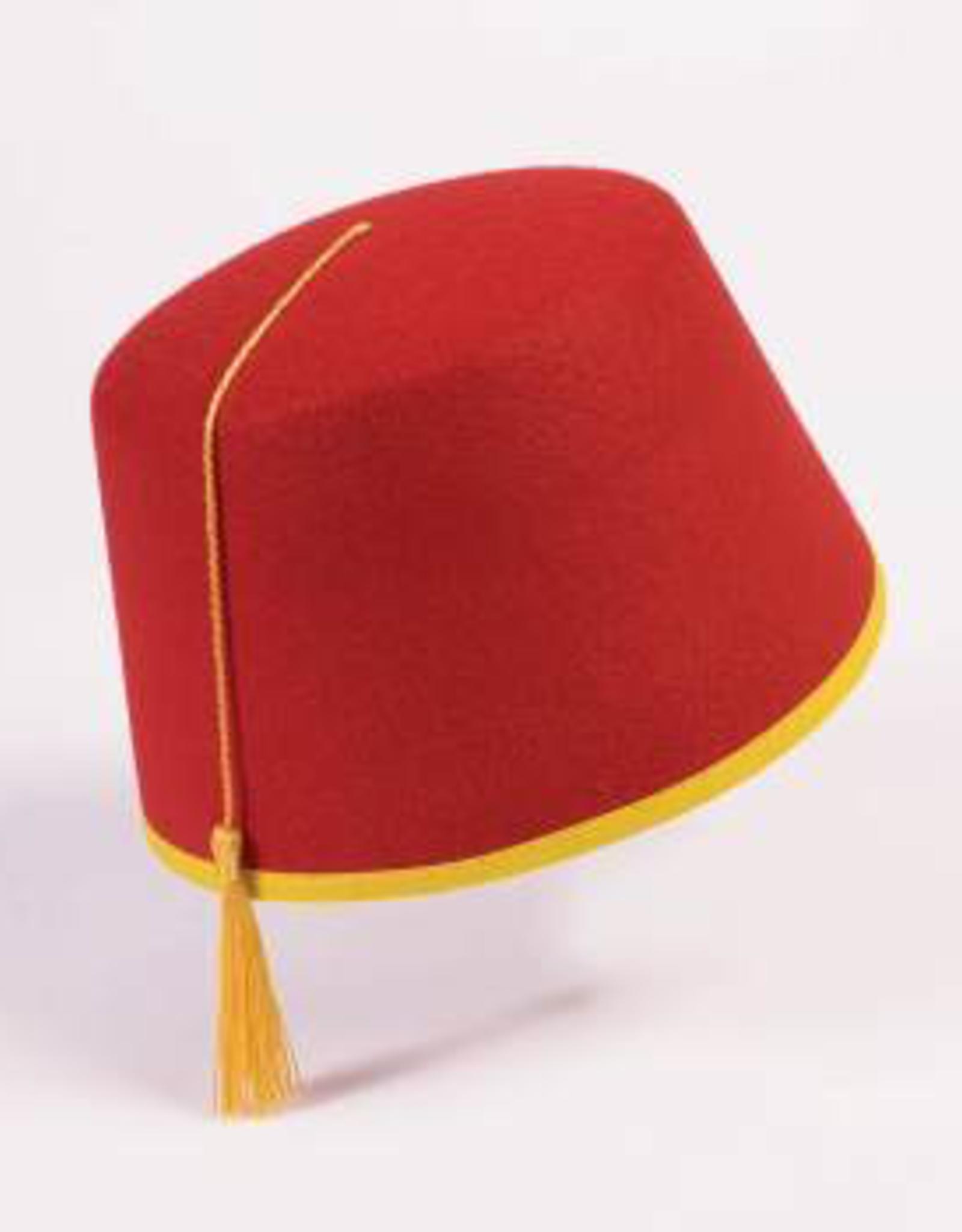 HAT-FEZ, RED