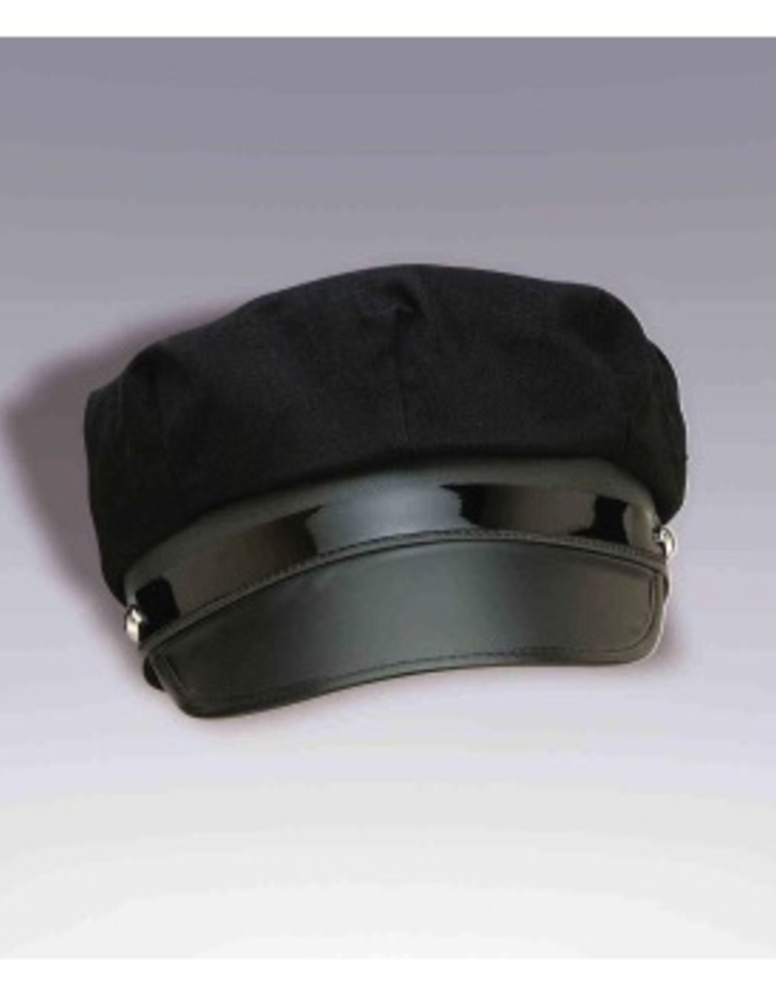 HAT-CHAUFFEUR, BLACK