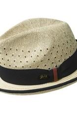 Bailey Hat Co. HAT-FEDORA-BASCOM, STRAW NATURAL
